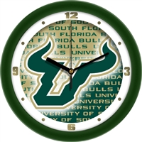 "South Florida Bulls 12"" Wall Clock - Dimension"