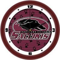 "Southern Illinois Salukis 12"" Wall Clock - Dimension"