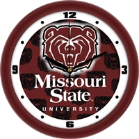 "Missouri State Bears 12"" Wall Clock - Dimension"