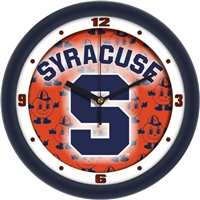 "Syracuse Orange 12"" Wall Clock - Dimension"