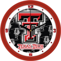 "Texas Tech Red Raiders 12"" Wall Clock - Dimension"