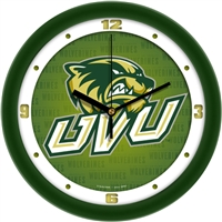 "Utah Valley University Wolverines 12"" Wall Clock - Dimension"