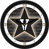 "Vanderbilt Commodores 12"" Wall Clock - Dimension"