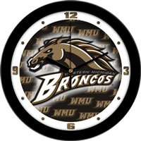 "Western Michigan Broncos 12"" Wall Clock - Dimension"