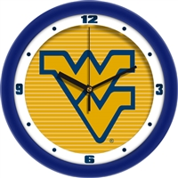 "West Virginia Mountaineers 12"" Wall Clock - Dimension"