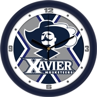 "Xavier Musketeers 12"" Wall Clock - Dimension"