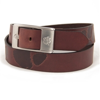 Clemson Tigers NCAA Men's Embossed Leather Belt