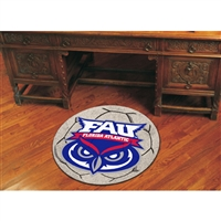 Florida Atlantic Owls NCAA Soccer Ball Round Floor Mat (29)