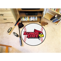 Illinois State Redbirds NCAA Baseball Round Floor Mat (29)