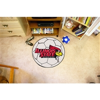 Illinois State Redbirds NCAA Soccer Ball Round Floor Mat (29)