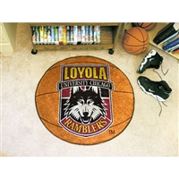 Loyola Illinois Ramblers NCAA Basketball Round Floor Mat (29)