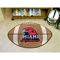 Miami Ohio Redhawks NCAA Football Floor Mat (22x35)