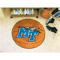 Middle Tennessee State Blue Raiders NCAA Basketball Round Floor Mat (29)