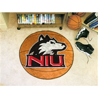 Northern Illinois Huskies NCAA Basketball Round Floor Mat (29)
