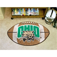 Ohio Bobcats NCAA Football Floor Mat (22x35)