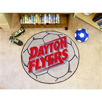 Dayton Flyers NCAA Soccer Ball Round Floor Mat (29)