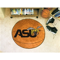 Alabama State Hornets NCAA Basketball Round Floor Mat (29)