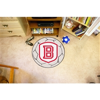 Bradley Braves NCAA Soccer Ball Round Floor Mat (29)