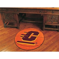Central Michigan Chippewas NCAA Basketball Round Floor Mat (29)