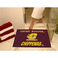 Central Michigan Chippewas NCAA All-Star Floor Mat (34x45)