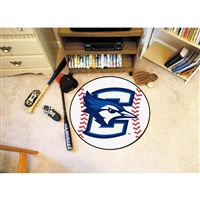 Creighton Bluejays NCAA Baseball Round Floor Mat (29)