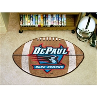 DePaul Blue Demons NCAA Football Floor Mat (22x35)