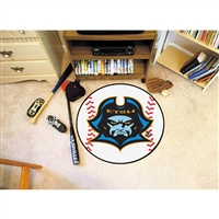 East Tennessee State Buccaneers NCAA Baseball Round Floor Mat (29)