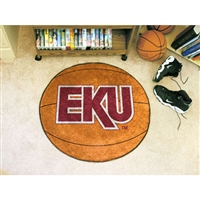 Eastern Kentucky Colonels NCAA Basketball Round Floor Mat (29)