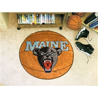 Maine Black Bears NCAA Basketball Round Floor Mat (29)