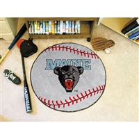 Maine Black Bears NCAA Baseball Round Floor Mat (29)