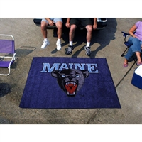Maine Black Bears NCAA Tailgater Floor Mat (5'x6')