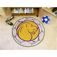 North Alabama Lions NCAA Soccer Ball Round Floor Mat (29)