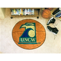 North Carolina Wilmington Seahawks NCAA Basketball Round Floor Mat (29)