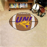 Northern Iowa Panthers NCAA Football Floor Mat (22x35)