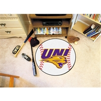 Northern Iowa Panthers NCAA Baseball Round Floor Mat (29)