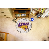 Northern Iowa Panthers NCAA Soccer Ball Round Floor Mat (29)