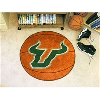 South Florida Bulls NCAA Basketball Round Floor Mat (29)
