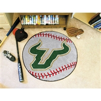South Florida Bulls NCAA Baseball Round Floor Mat (29)