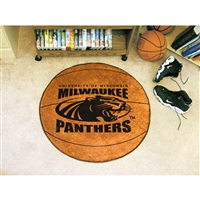 Wisconsin Milwaukee Panthers NCAA Basketball Round Floor Mat (29)
