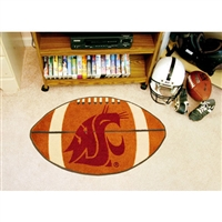 Washington State Cougars NCAA Football Floor Mat (22x35)