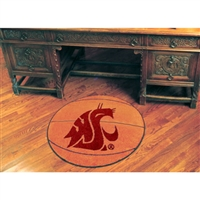 Washington State Cougars NCAA Basketball Round Floor Mat (29)