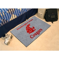 Washington State Cougars NCAA Starter Floor Mat (20x30)