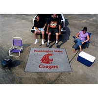 Washington State Cougars NCAA Tailgater Floor Mat (5'x6')