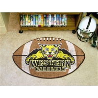 Western Carolina Catamounts NCAA Football Floor Mat (22x35)