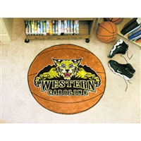 Western Carolina Catamounts NCAA Basketball Round Floor Mat (29)