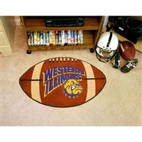 Western Illinois Leathernecks NCAA Football Floor Mat (22x35)