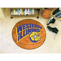 Western Illinois Leathernecks NCAA Basketball Round Floor Mat (29)
