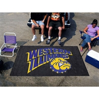 Western Illinois Leathernecks NCAA Ulti-Mat Floor Mat (5x8')
