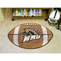 Western Michigan Broncos NCAA Football Floor Mat (22x35)