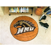 Western Michigan Broncos NCAA Basketball Round Floor Mat (29)